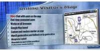 Visitors online map