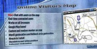 Visitors online map