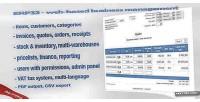 Web erp32 based software management business