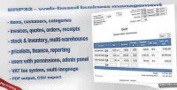 Web erp32 based software management business