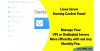 Web linux panel control hosting