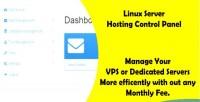 Web linux panel control hosting