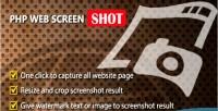 Web php screenshot