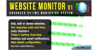 Website advanced uptime monitor