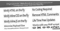 Website dynamic compressor