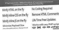 Website dynamic compressor