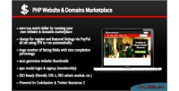 Website php marketplace domains and