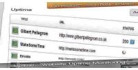 Website uptime uptime monitoring