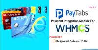 Whmcs paytabs module