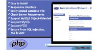 Wizard installation php