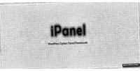 Wordpress ipanel framework panel options