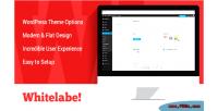 Wordpress whitelabel theme panel options plugin