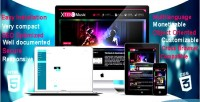 Xtend music multilanguage site band djs for