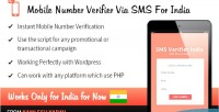 Mobile number verifier via india for sms