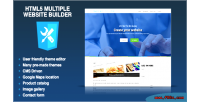 Multiple html5 website cms multisite builder