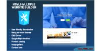 Multiple html5 website cms multisite builder