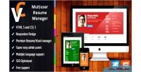 Multiuser premium resume manager