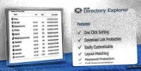 Directory php explorer