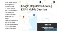 Maps photo geo tag direction mobile exif maps