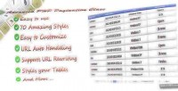 Php advanced pagination class
