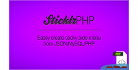 Sticklr php easy sticky builder panel side
