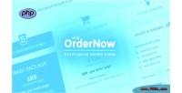 Order php form