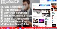 Paper news dynamic news & magazine script portal blog