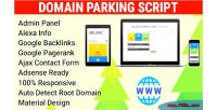 Parking domain script