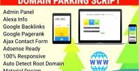 Parking domain script