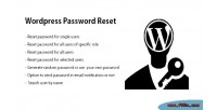 Password wordpress reset