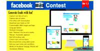 Photo facebook contest