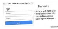 Php simple login system