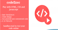 Play codeexec with javascript html & css