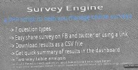 Engine survey