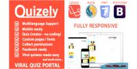 Facebook quizely script quiz viral