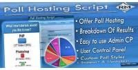 Hosting poll script