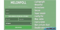 Super melonpoll simple creator poll beautiful