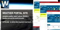 Portal weather site