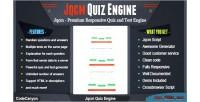 Premium jqcm engine quiz responsive