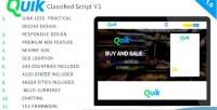 Premium quik script ads classified