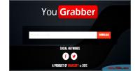 Premium yougrabber youtube script php downloader