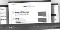 A clientele portal client secure