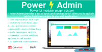 Advanced poweradmin management admin php