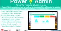 Advanced poweradmin management admin php