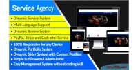Agency service responsive service agency system management & website s any for