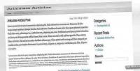 Articles articulate