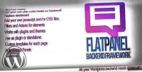 Backend flatpanel framework