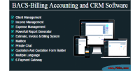 Billing bacs accounting software crm and