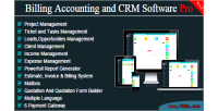 Billing bacs pro crm accounting