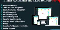 Billing bacs pro crm accounting
